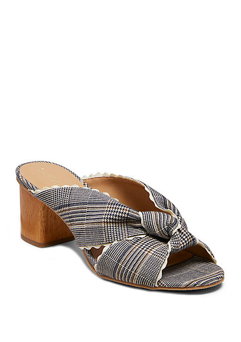 Jack Rogers Holly Plaid Mules
