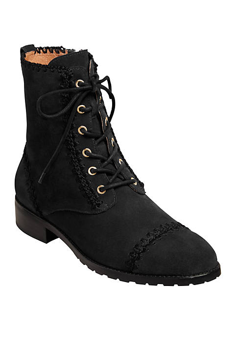 Jack Rogers Gemma Lace Up Booties