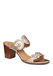 Lauren 2 Band Slide Sandal