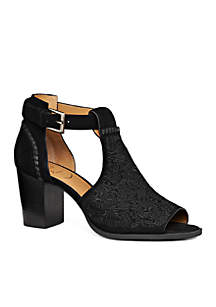 Cameron Suede Embroidered Bootie