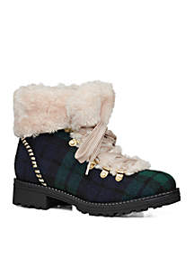 Charlie Textile Shearling Boot
