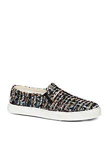 Anna Tweed Slip-on Sneaker