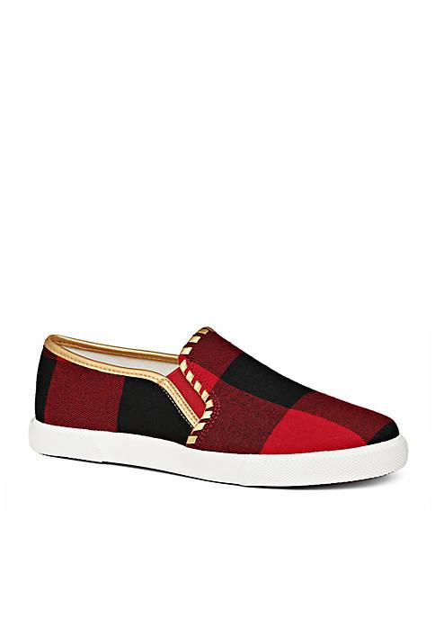 Jack Rogers Brynne Flannel Slip-On Sneaker