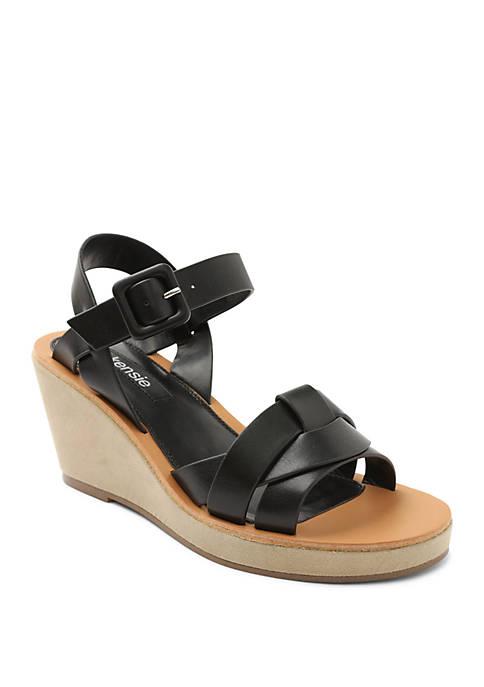 Kensie Visia Woven Wedge Sandals