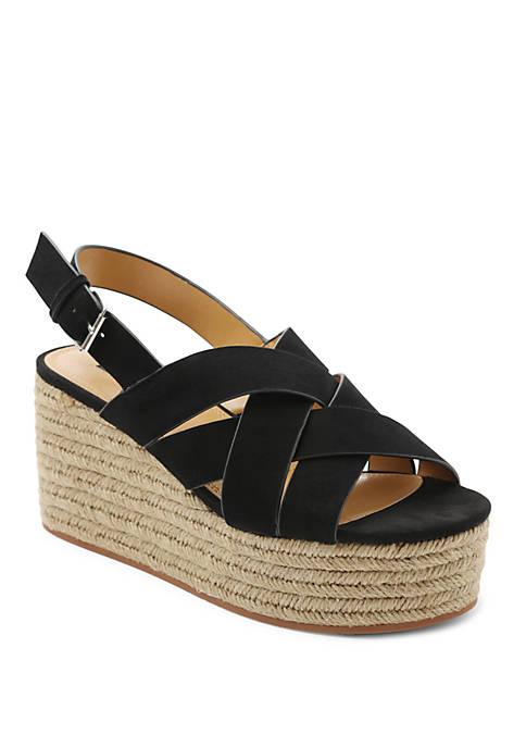Kensie Facoma Platform Espradrille Sandals