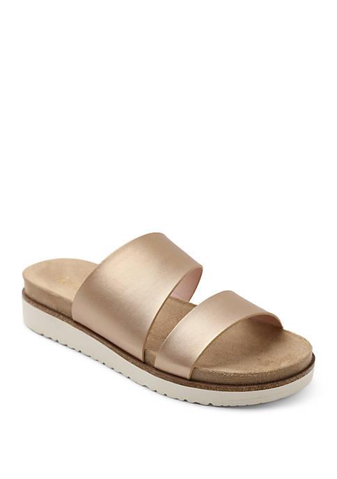 Kensie Danesha Footbed Sandals