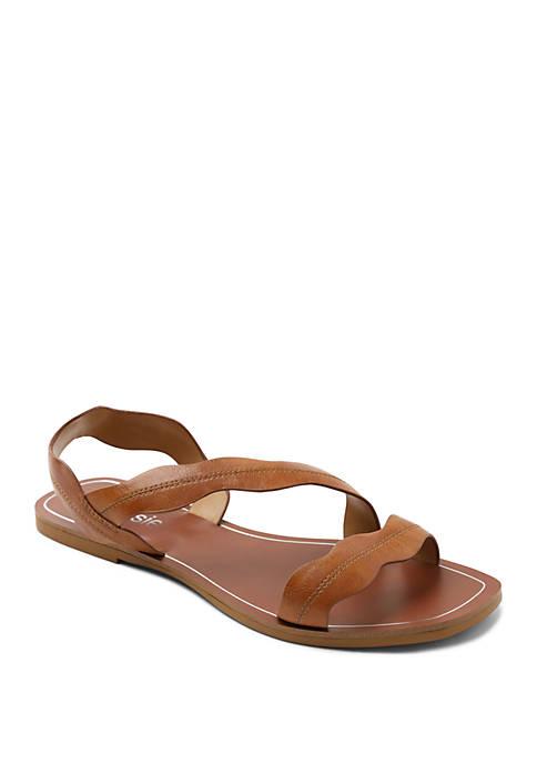 Kensie Nikolai Asymmetrical Sandals
