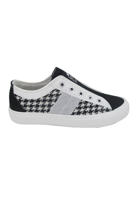 Elite Houndstooth Sneakers