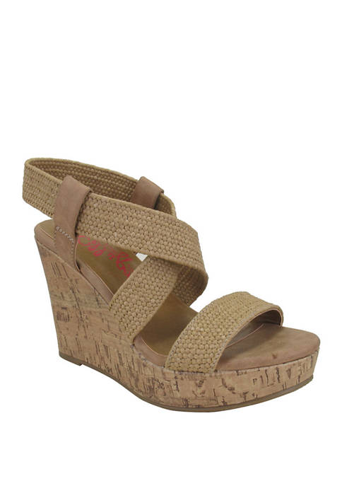 Jellypop Makenna Wedge Sandals