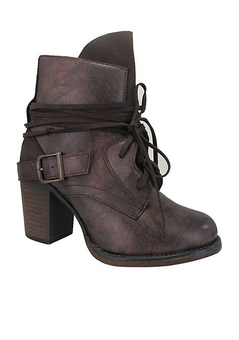 Jellypop Giana Lace Up Bootie