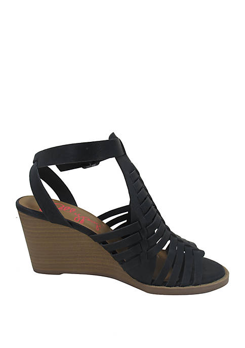 Jellypop Carmi Wedge Sandals