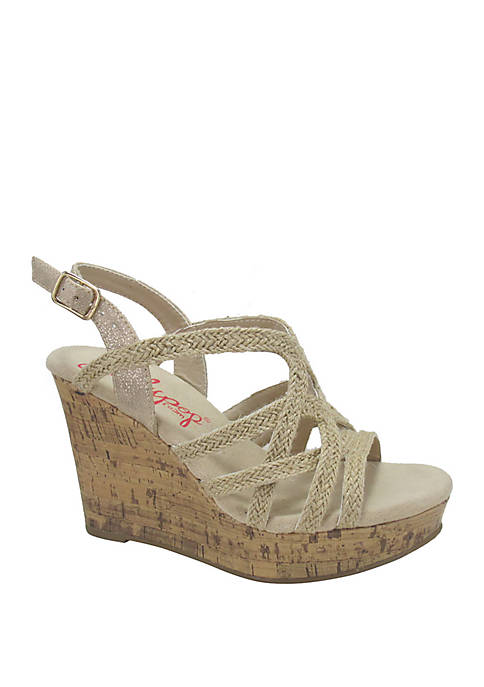 Jellypop Paradise Jute Wedge Sandals
