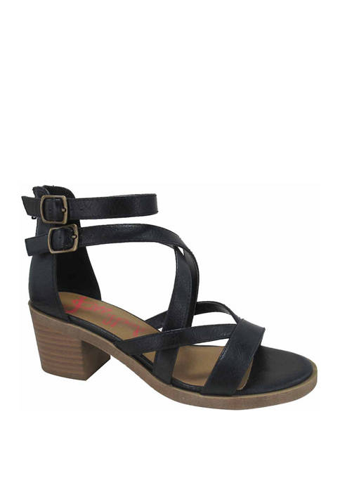 Hakka Block Heel Sandals