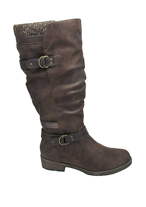 Jackie Buckle Boots