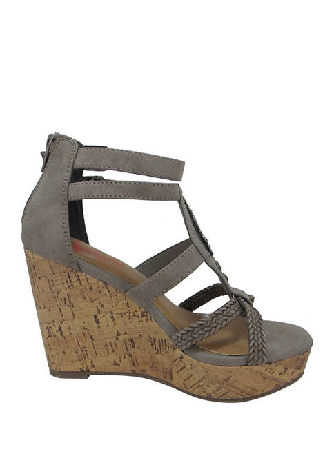 Jellypop Yatra Wedge Sandals