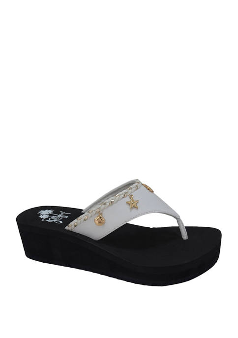Jellypop EVA Wedge Flip Flop Sandals