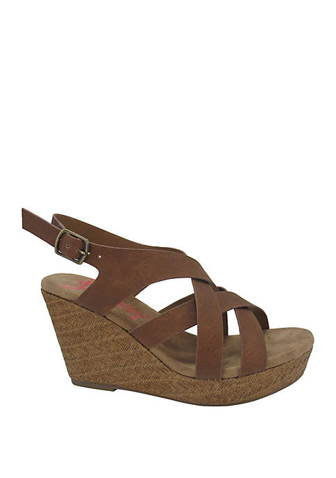 Jellypop Springs Wedge Sandals