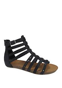 Jellypop Aztec Gladiator Sandals