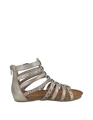 e44085fe5d28 Jellypop Aztec Gladiator Sandals