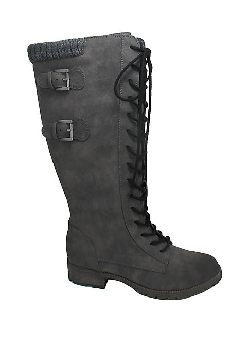 Tomi Tall Lace Up Boots