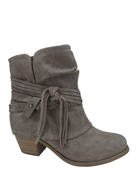 Jellypop Mute Belted Booties