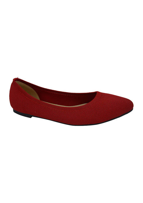 Jellypop Champs Pointed Flats