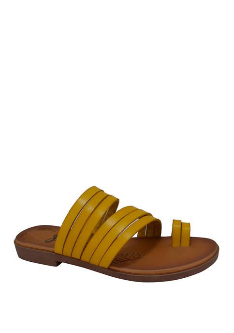 Cayman Toe Loop Sandals