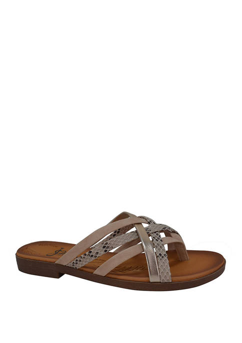 Jellypop Reef Banded Sandals