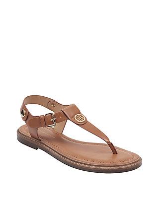 Bennia Thong Sandal Tommy Hilfiger Bennia Flat Sandals Shoes