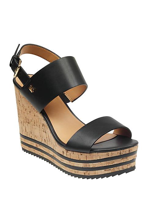 Briley Cork Wedge Sandal