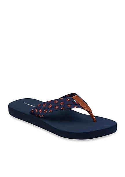 Tommy Hilfiger WATER BEACH - Pool shoes - blue o4bUdow
