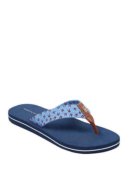 Civlee Flag Flip Flops