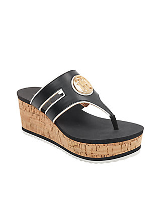03c6d131bae8 Tommy Hilfiger. Tommy Hilfiger Galley Wedge Thong Sandal