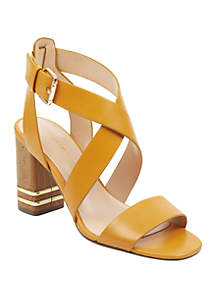 Tommy Hilfiger Sadah Stacked Heel Sandals