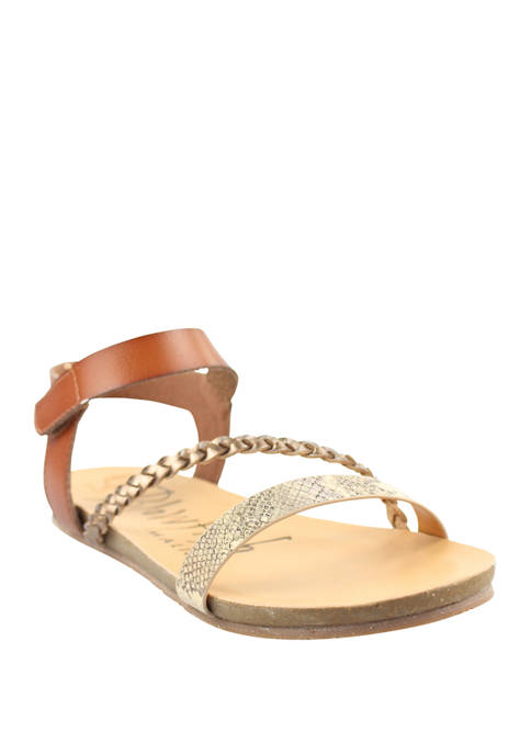 Blowfish Goya Braided Flat Sandals