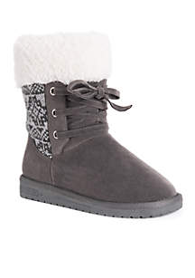 Melba Lace-Up Boot