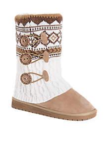 Cheryl Slipper Boot