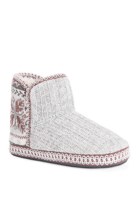MUK LUKS® Leigh Bootie Slippers