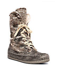 MUK LUKS® Lilly Lace-Up Boot - Online Only