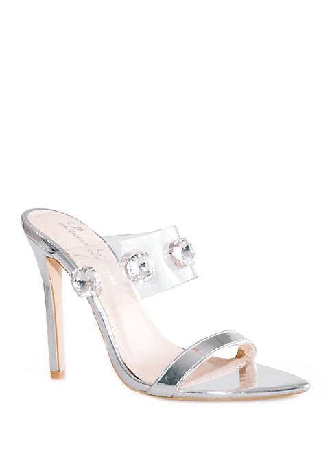 Lauren Lorraine Ella Cuff Slide Sandals
