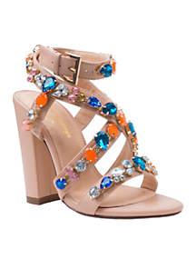 Larissa Bejeweled City Sandal