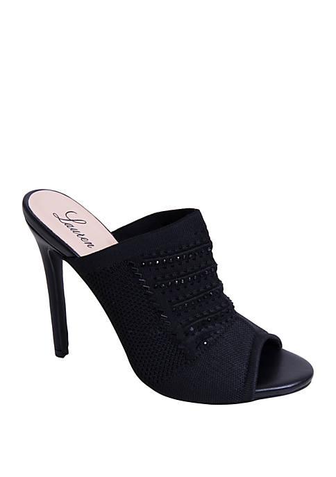Lauren Lorraine Marcia Peep Toe Heels