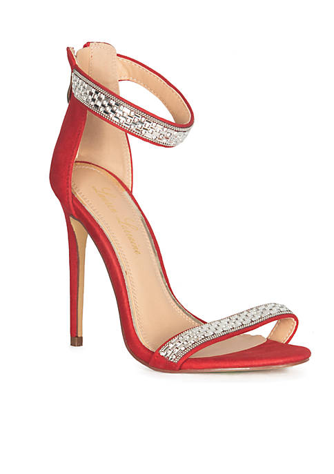cb496c73c85 Jessica Simpson Lael Glitter Platform Heels