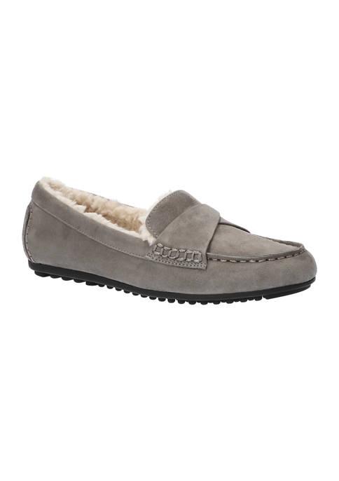 Bella-Vita Prentice Faux Sherling Comfort Loafers