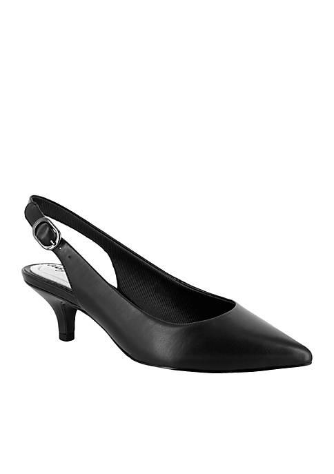 Easy Street Faye Slingback Heels