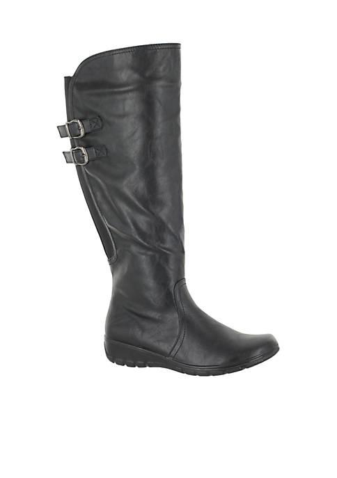 Tess Boot Plus – Wide Calf