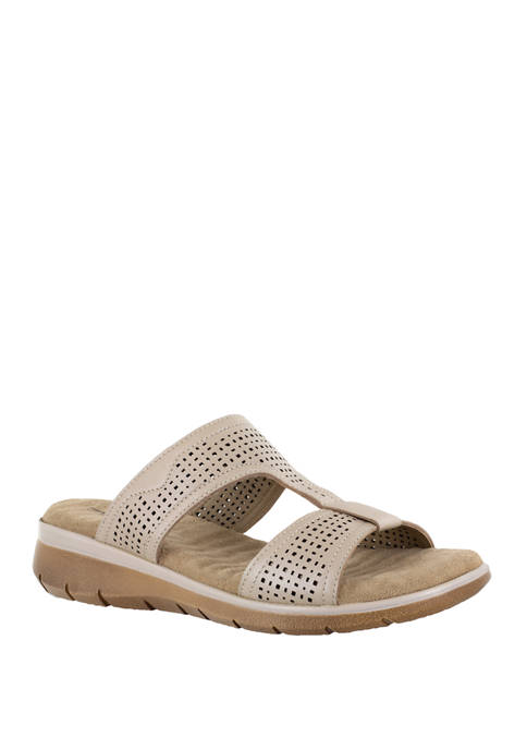 Easy Street Surry Comfort Leather Sandals