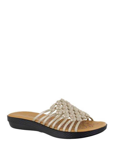Easy Street Sing Comfort Slide Sandals