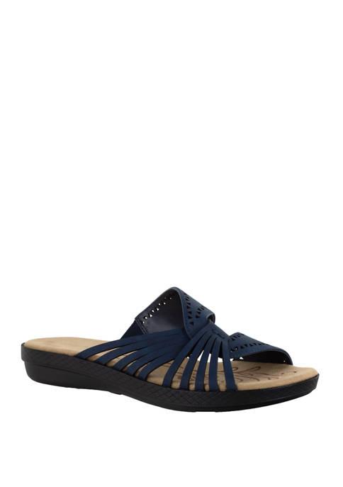 Easy Street Tula Comfort Slide Sandals