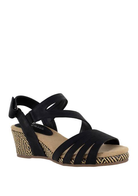 Easy Street Lee Espadrille Sandals